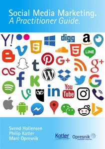 """Social Media Marketing"""" co-authored with Philip Kotler and Svend Hollensen"""