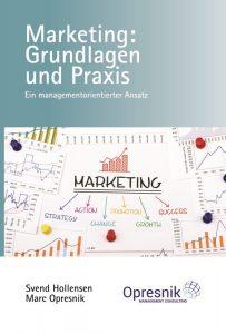 book cover marketing grundlagen und praxis ein managementorientierter ansatz