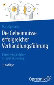 book cover die geheimnisse erfolgreicher verhandlungsführung dritte Auflage