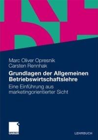 book cover grundlagen allgemeine bwl