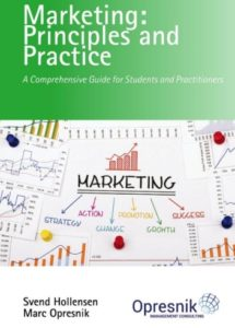 book cover marketing principles and practice