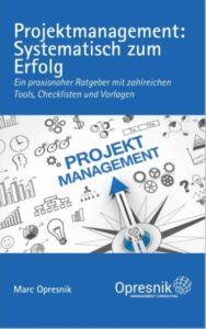 book cover projektmanagement systematisch zum erfolg