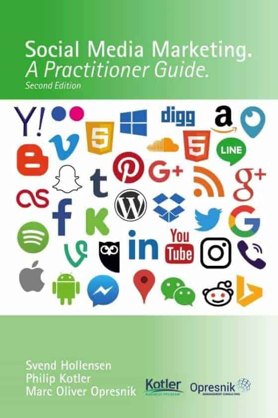 book cover social media marketing a practitioner guide