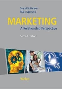 cover marketing – a relationship perspective second edition