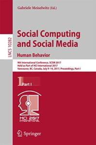 Social Computing and Social Media human behavior