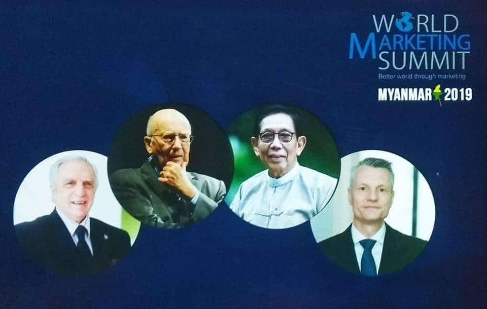 World Marketing Summit Myanmar 2019