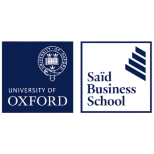Saïd Business School University of Oxford